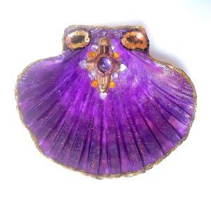 Coquille St Jacques violette